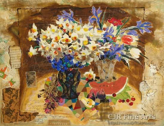 alexander-wissotzky-flowers-in-a-vase
